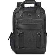 USLEXE7354, US Luggage Bradford Black Backpack, 1, Black,Gray