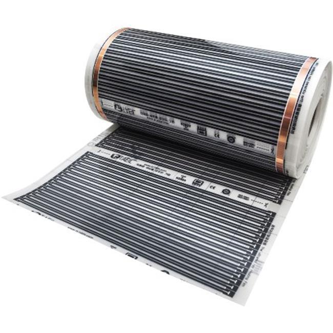 Taeil W25-CHF1934-KIT70 Underfloor Carbon Heating Film Essential Kit 120V 70 Sq Ft by Taeil