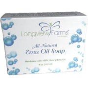 Longview Farms All Natural Emu Oil Soaps - Colloidal Oatmeal