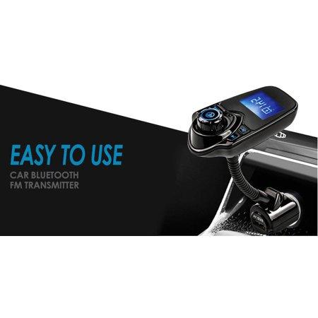 LIVEDITOR Bluetooth Car Kit MP3 Player FM Transmitter Wireless Radio