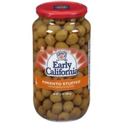 (2 pack) Early California Pimiento Stuffed Manzanilla Olives 21 oz. Jar