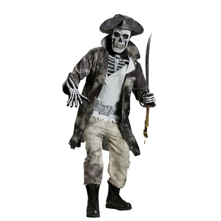 Adult Ghost Pirate Halloween Costume