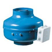 Acme Miami AFG-4 4 in. Centrifugal Fan Metal Housing - 167 CFM - Blue