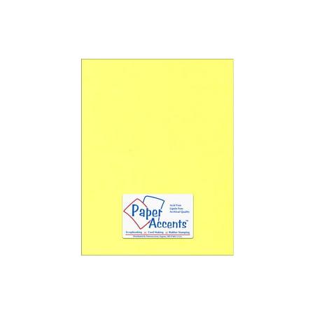 Lite Stock 8.5x11 60lb Text 25pc Lt Yellow (60lb Text Paper)