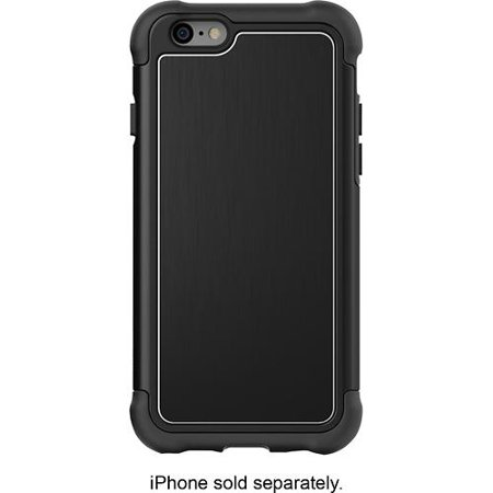 Ballistic TO1423-A93Y Tungsten Tough Case for Apple iPhone 6/6S - Black