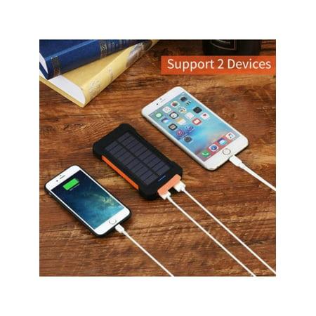 Maraso 50000mAh Solar Power Bank 2USB 2LED Portable Battery Charger For Mobile - Portable Phone Batteries
