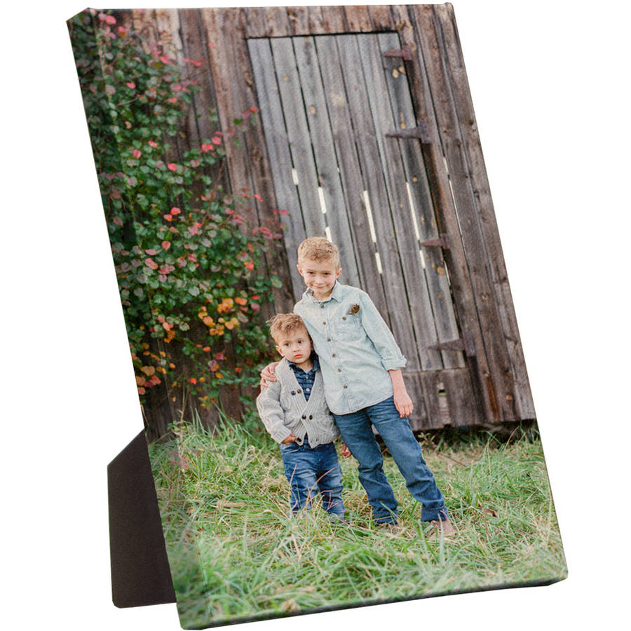 "5x7 Gallery-Wrapped Photo Desk Canvas, .5"" with Easel Back"