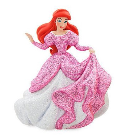 Disney Princess The Little Mermaid Ariel In Pink Gown PVC Figure [Glitter] [No Packaging]