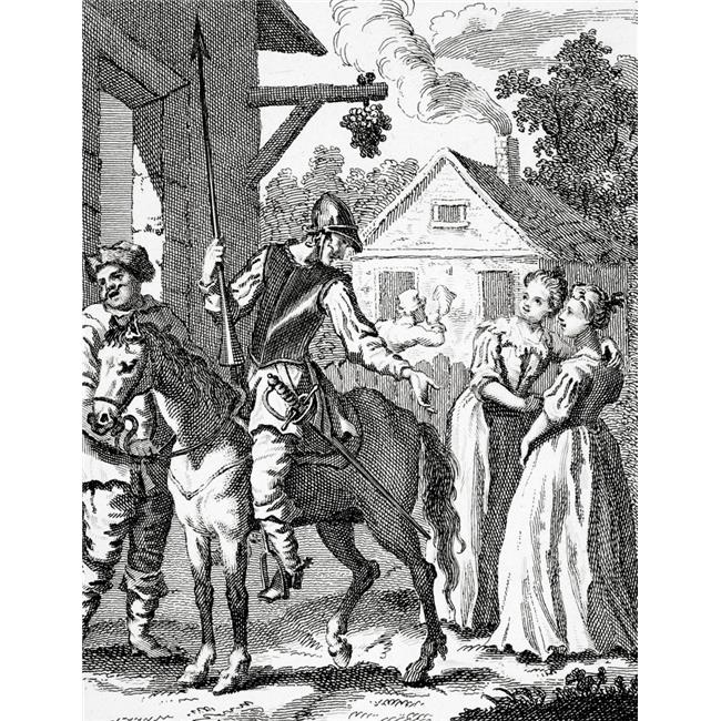 Posterazzi DPI1861655LARGE Don Quixote & Sancho Panza by William Hogarth Published 1798 Poster Print, 24 x 32 - image 1 de 1