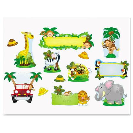 Carson-Dellosa Publishing  Jungle Safari Bulletin Board Set (Jungle Bulletin Board)