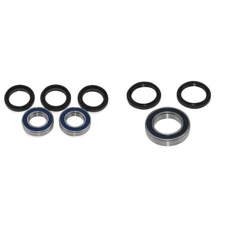 QUADBOSS Front and Rear Wheel Bearing Kits for Yamaha