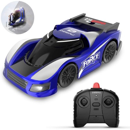 RC Cars for Kids Remote Control Wall Climbing Car Toys with Low Power Protection,Dual Mode,360°Rotating Stunt,Rechargeable High Speed Mini Toy Vehicles with LED Lights Gifts for Boys Girls