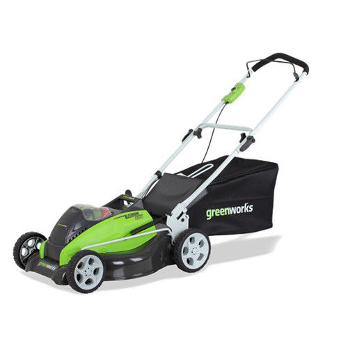 Greenworks 25223 40V G-MAX Cordless Lithium-Ion 19 in. 3-in-1 Lawn Mower by GREENWORKS
