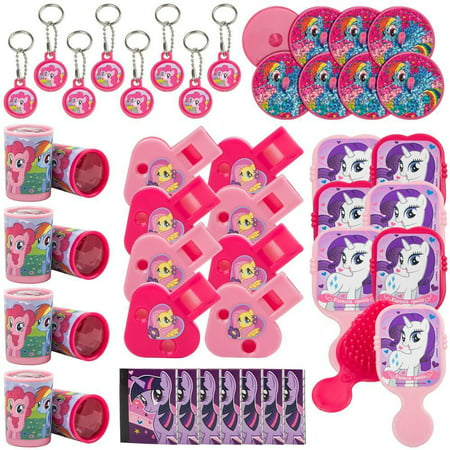 My Little Pony Birthday Cake Kit (My Little Pony Mega Mix Value Favor (48)