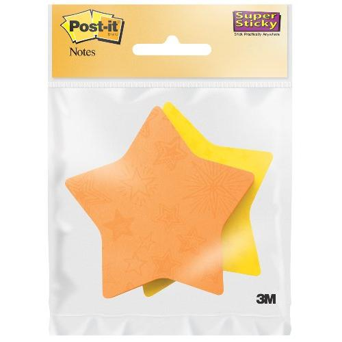 Post-It Super Stick Star Notes