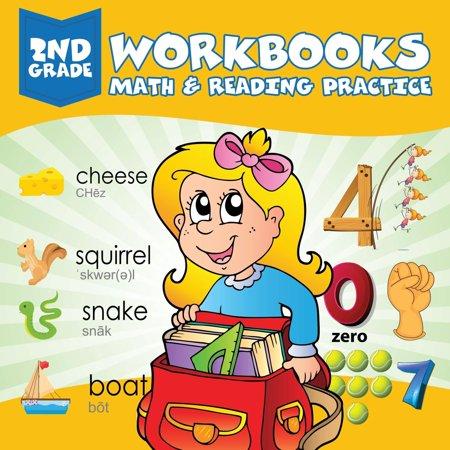 2nd Grade Workbooks: Math & Reading Practice - Halloween Math Problems 2nd Grade