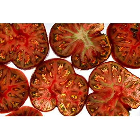 Tomato Black Sea man Great Heirloom Garden Vegetable By Seed Kingdom 100 Seeds