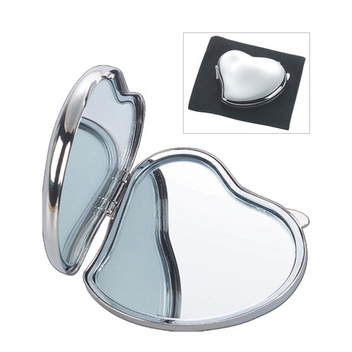 Natico Compact Heart Shape Mirror