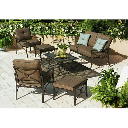 Better homes and gardens seaside garden 6 piece sofa set 7 better homes and gardens