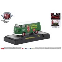 M2 Machines Coca-Cola Release SC01 1960 VW Delivery Van Sparkling Holidays Green