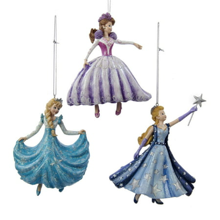 DANCING AND STAR WAND PRINCESS ORNAMENT ()