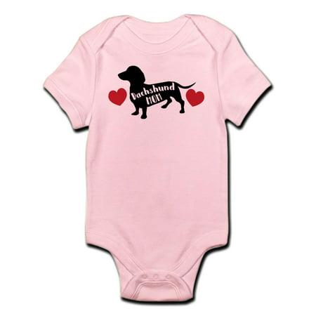 374af3967d CafePress - CafePress - Dachshund Mom - Baby Light Bodysuit - Walmart.com