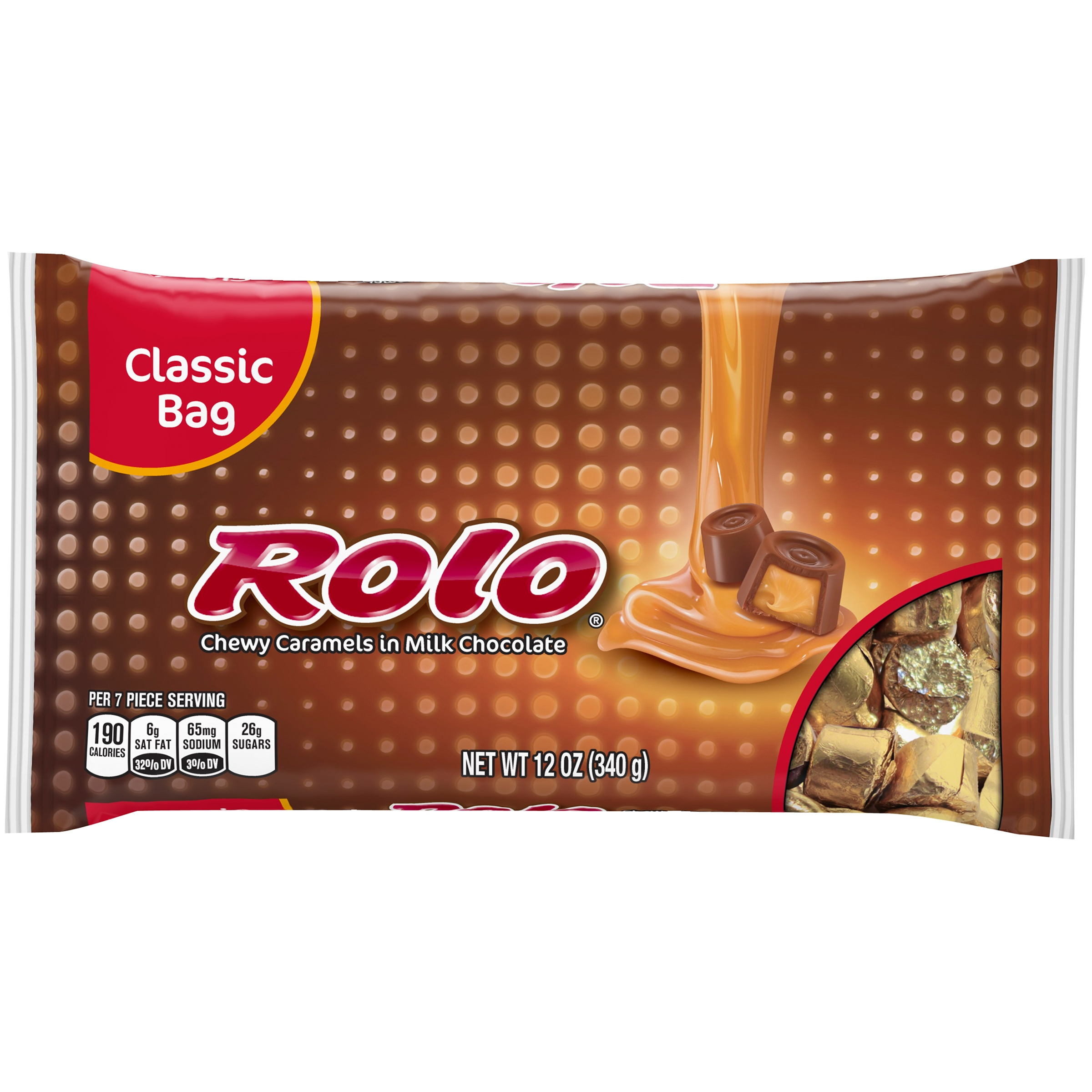 ROLO Chewy Caramels in Milk Chocolate, 12 oz by The Hershey Company