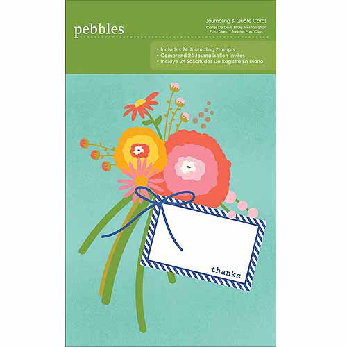 Lakeside Journaling Cards 4 Inch X 6 Inch Pad-25 Pieces, Assorted