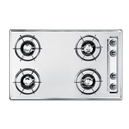 Summit ZNL05P 30in Wide Gas Cooktop (30 Inches Gas Cooktop)