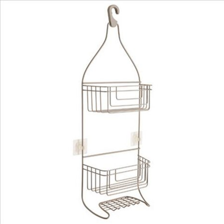 Franklin Brass Shower Caddy with IncrediGrip Pads, Available in Multiple Colors