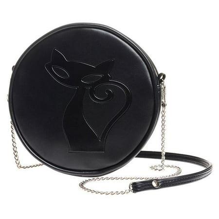 Alchemy Gb8 Black Cat Round Bag