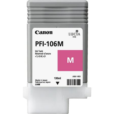 Canon (PFI-106M) Magenta Ink Cartridge (130mL)