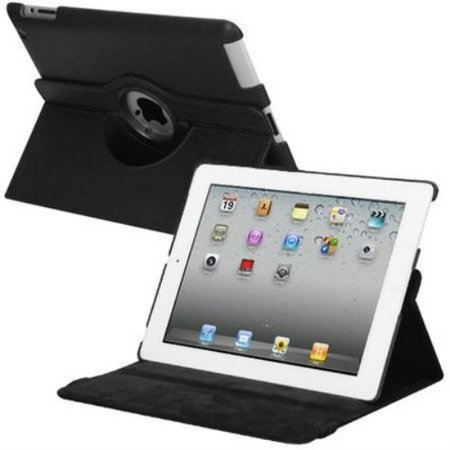 Smart Rotary Leather Case for iPad 2, iPad 3 and iPad 4th Generation -