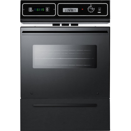 Summit 24'' Gas Single Wall Oven