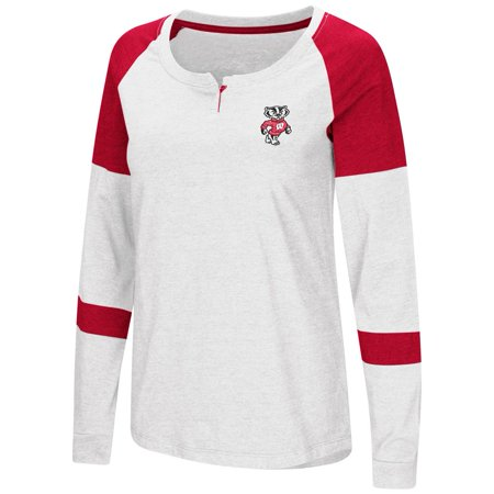 University of Wisconsin Badgers Ladies Long Sleeve Raglan Dorothy Tee