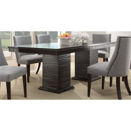 Trent Home Chicago Dining Table in Deep Espresso