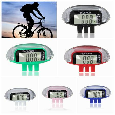 Lightweight Mini Digital LCD Pedometer Step Run Walking Distance Calorie