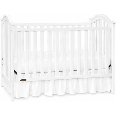 Graco Ashland Classic 3 In 1 Convertible Crib White