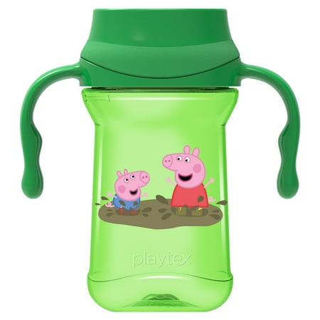 Peppa Pig Cup (Playtex Baby Stage 1 Spoutless Sippy Cup Peppa Pig With Handles - 1)