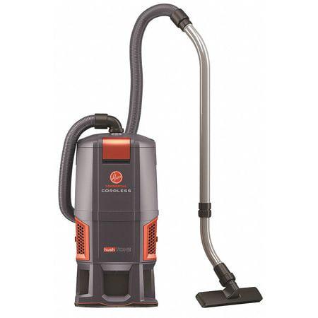 HOOVER COMMERCIAL CH93406 Backpack Vacuum,Air Flow 94 cfm,1-5/8 HP