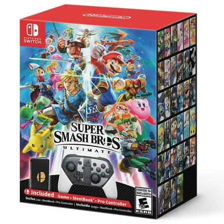 Super Smash Bros. Ultimate Special Edition, Nintendo, Nintendo Switch, (Super Mario Smash Bros Brawl)