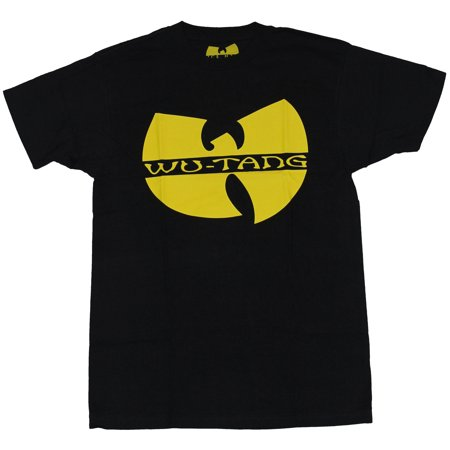 Wu Tang Clan Mens T Shirt Solid Yellow Wu Tang Symbol Walmart