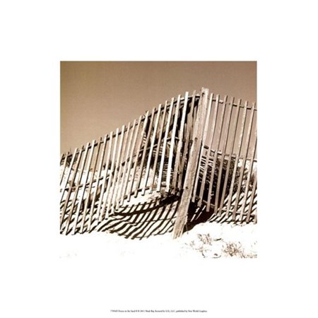 Posterazzi OWP77056D Fences in the Sand II Poster by Noah Bay -13.00 x 19.00 - image 1 of 1