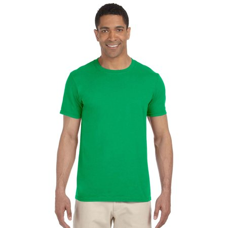 eb14f59e Gildan - Gildan G640 Softstyle Men's T-Shirt -Irish Green-Large -  Walmart.com