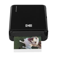 Kodak Mini 2 HD Wireless Mobile Instant Photo Printer w/4PASS Patented Printing Technology (Black) ? Compatible w/iOS & Android Devices - Real Ink In An Instant