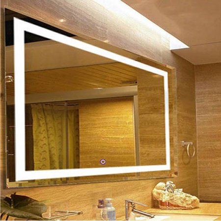Fab Glass And Mirror Bathroom Wall Mounted High Quality