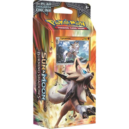 Pokemon TCG Card Game Sun and Moon Burning Shadows Theme Deck - Lycanroc