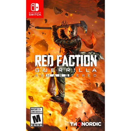 Factions Collectors - Red Faction Guerilla Re-Mars-tered Edition, THQ-Nordic, Nintendo Switch, 811994022066