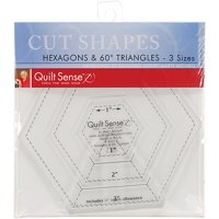 Quilt Sense Hexagons and 60-Degree Triangles