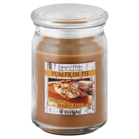Empire Candle (Langley Home Pumpkin Pie Scented Jar Candle 16 Oz )
